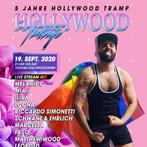 5 Jahre Hollywood Tramp - LIVESTREAM