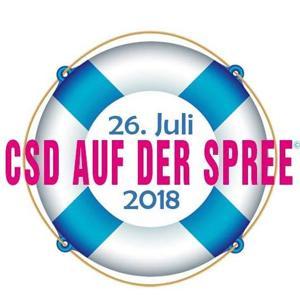CSD Berlin 2018 - CSD auf der Spree