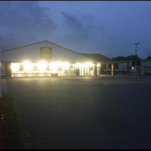 Lidl Parkplatz gegenüber von Real